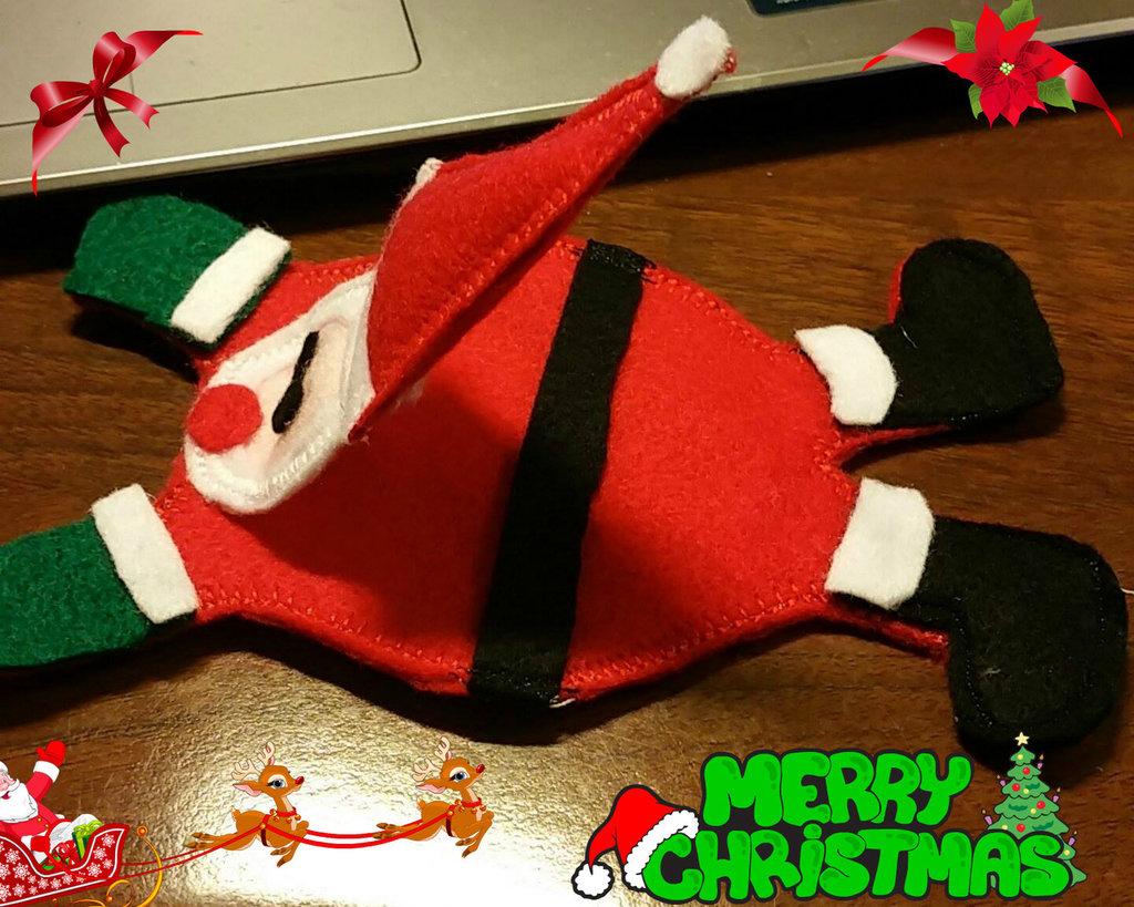 Le Tovagliette Sottotazza Babbo Natale