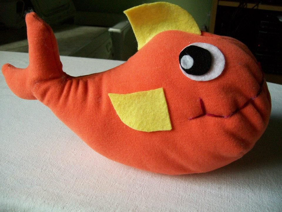 Pesce rosso morbidoso