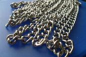 catena argentata per borse