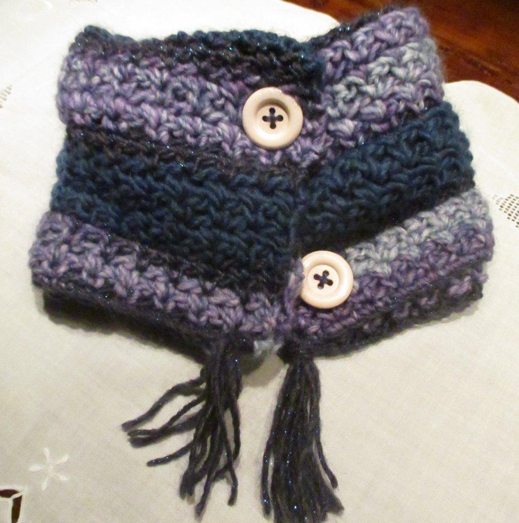 Scaldacollo bambina in lana