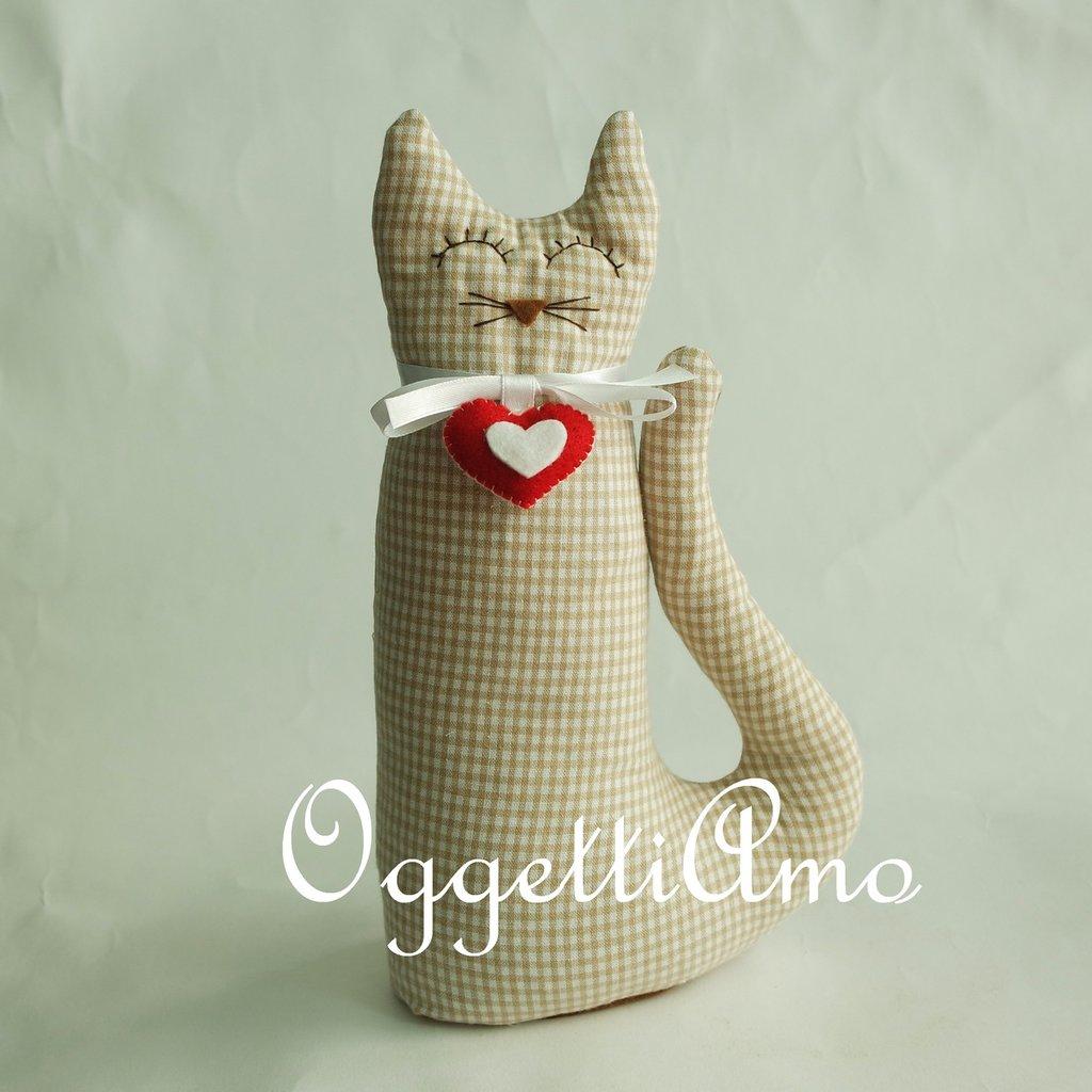Gattini in stoffa: originali fermaporta per decorare casa o come idea regalo per i vostri cari!