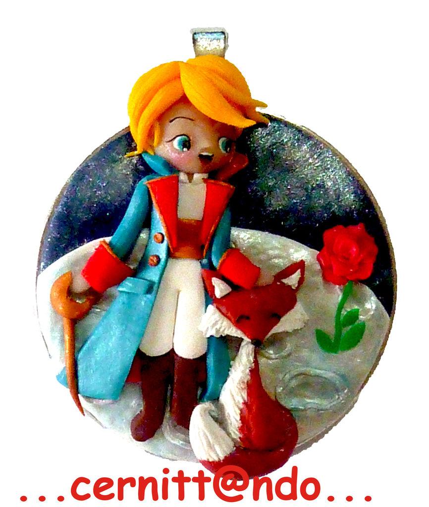 """Medaglione """"Il piccolo principe"""""""