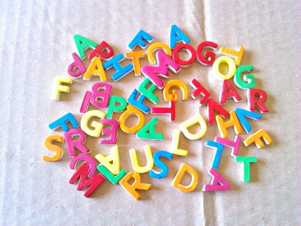 lettere in ceramica