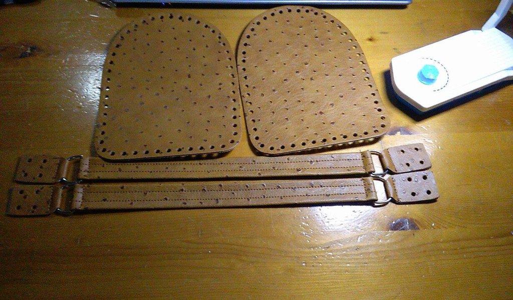 laterali bauletto con manici a mano
