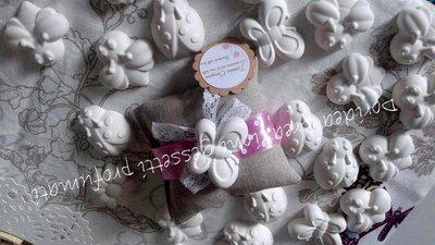 Gessetti profumati a forma di farfalla,fiore,coccinella,apetta