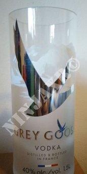 Vaso Grey Goose Lumière da bottiglia Magnum Limited Edition a Led