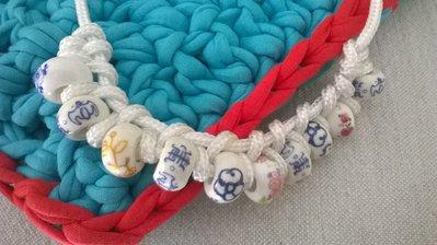Collana corda bianca
