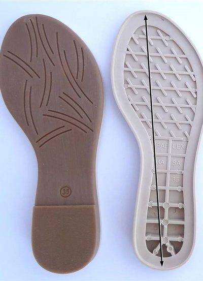suola per scarpe all uncinetto n 37