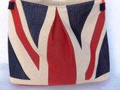 Tracolla bandiera inglese in gobelin fatto a mano