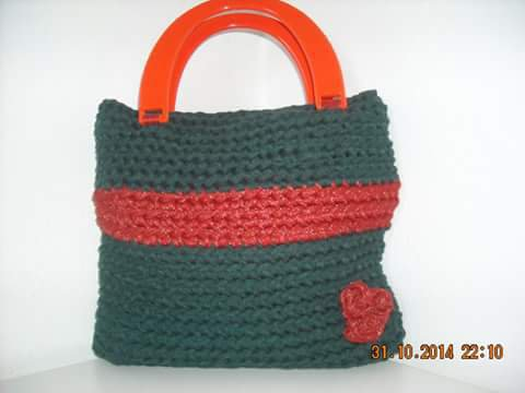 borsa piccola verde