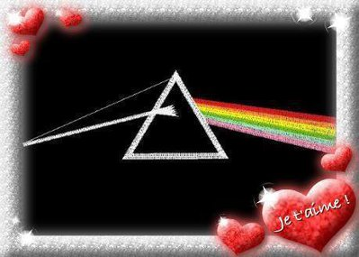 "Cover Cd Pink Floyd ""The dark side of the moon"""