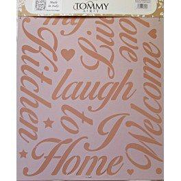 Stencil Scritte Romantiche -Tommy Art