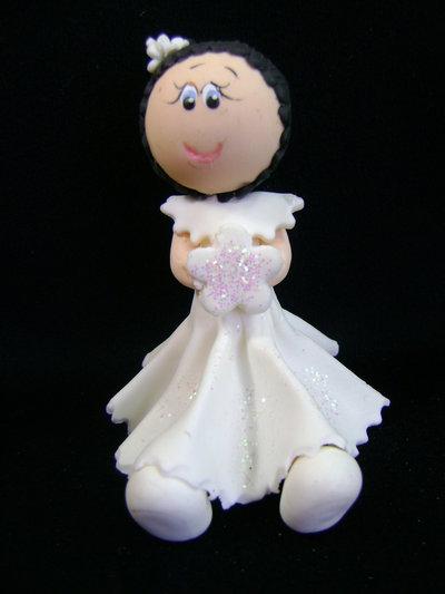 Bambolina di porcellana fredda
