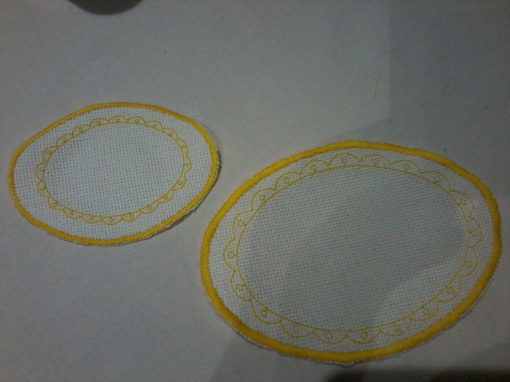 Ovali per asciugamani