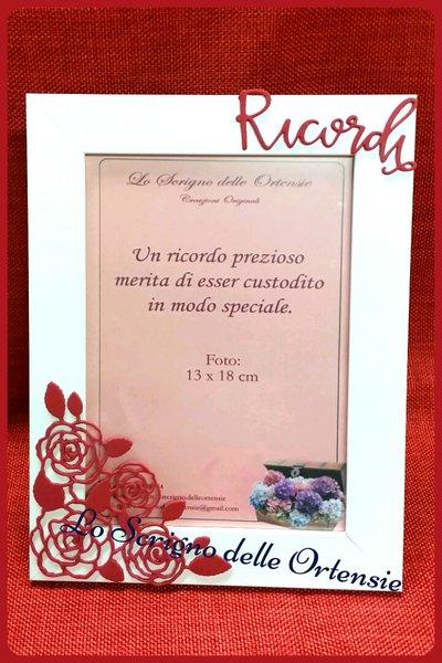 "CORNICE PORTAFOTO 13X18 CM "" RICORDI """