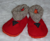 BABY SLIPPERS 6/9