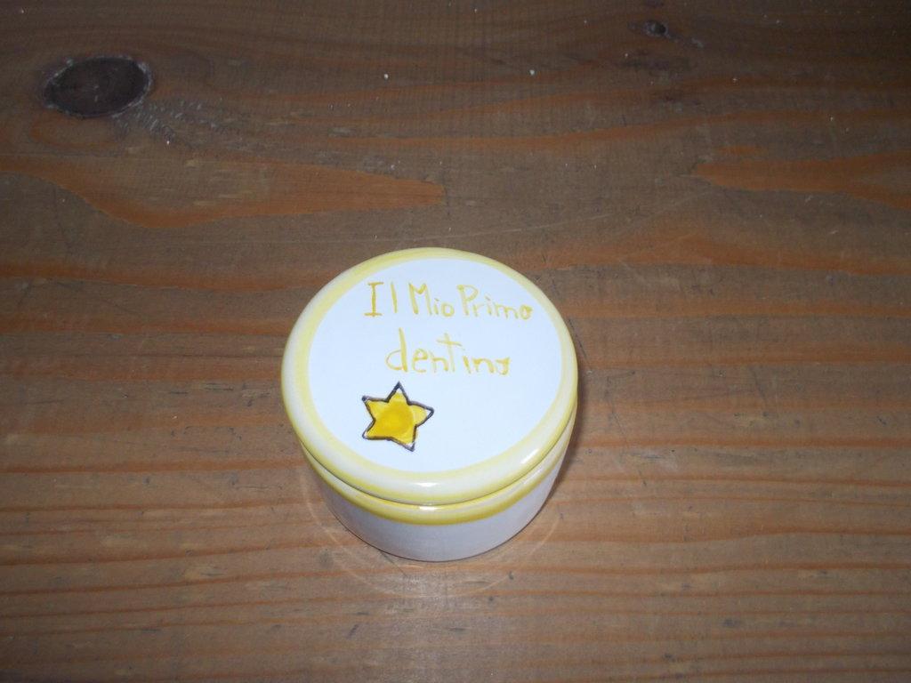 scatolina in ceramica
