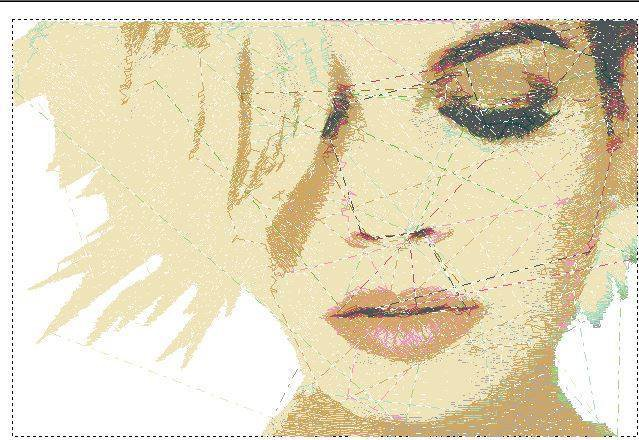 Cover Cd Emma ricamata