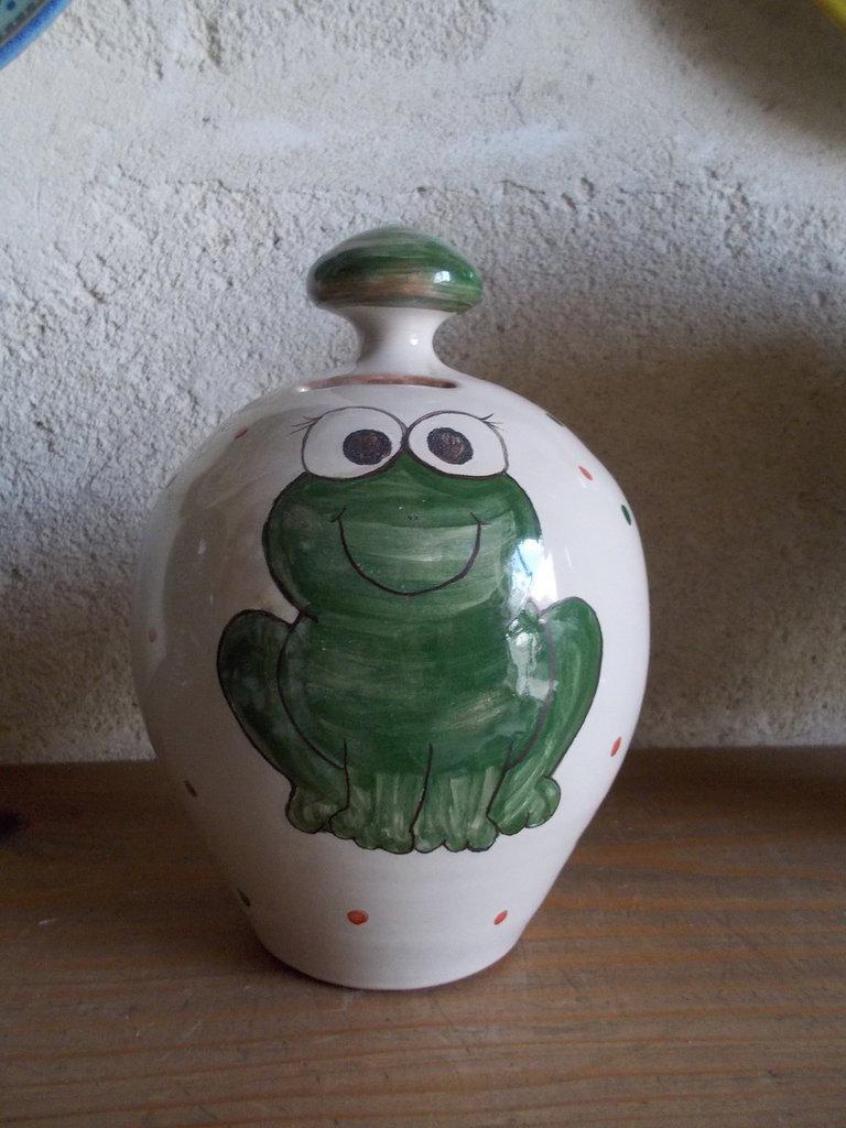 Salvadanaio in ceramica