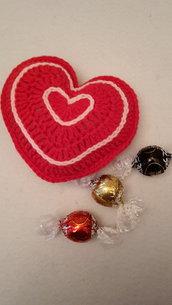 Grande cuore rosso