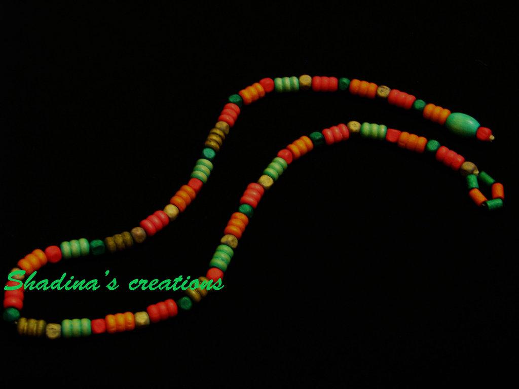 Collana etnica snake