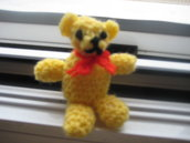 Amigurumi Crochet Miniature Teddy Bear Pattern