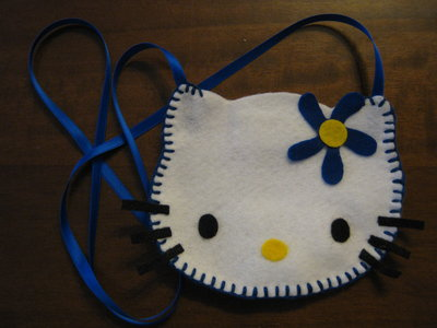 Borsina a tracolla Hello Kitty