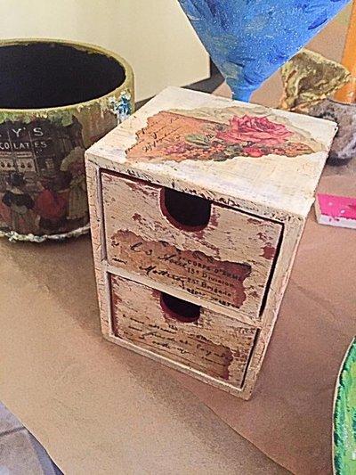 Portagioie oggetti legno shabby per la casa e per te - Oggetti in legno per la casa ...