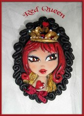 Spilla RED QUEEN limited edition /brooch red queen