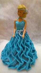 vestito per bambola barbie, idea regalo