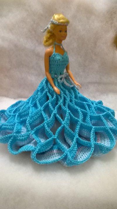 Vestito Per Bambola Barbie Idea Regalo Bambini Giocattoli Di