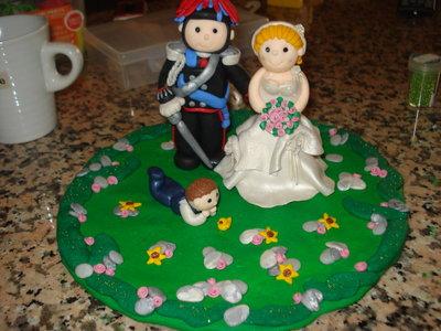 Cake topper personalizzato!