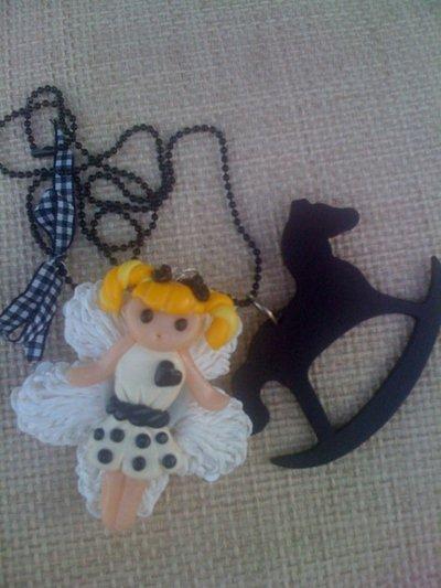 """Collana """"Doll e cavalluccio"""""""