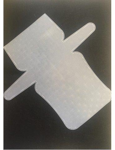 rete preformata per borse cm30x33