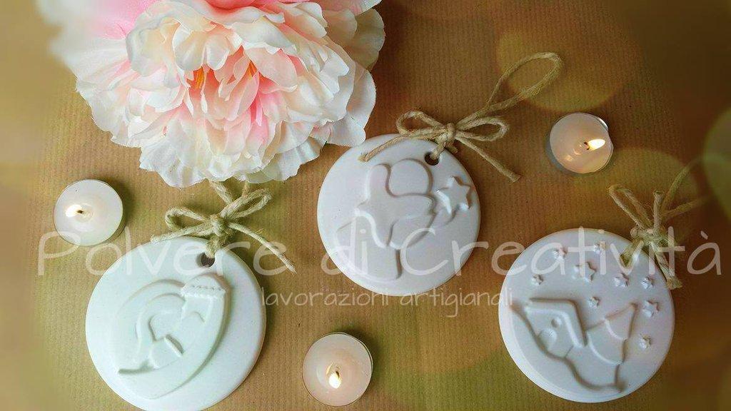 Medaglione in Ceramica Handmade