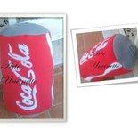 cuscino coca cola