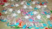 sacchettino portaconfetti  con gessetto profumato