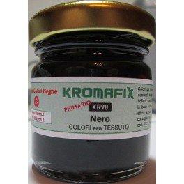 Colore per tessuto Nero Primario 30 ml - Kromafix