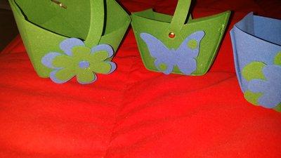 Cestini  per confetatta e caramellate