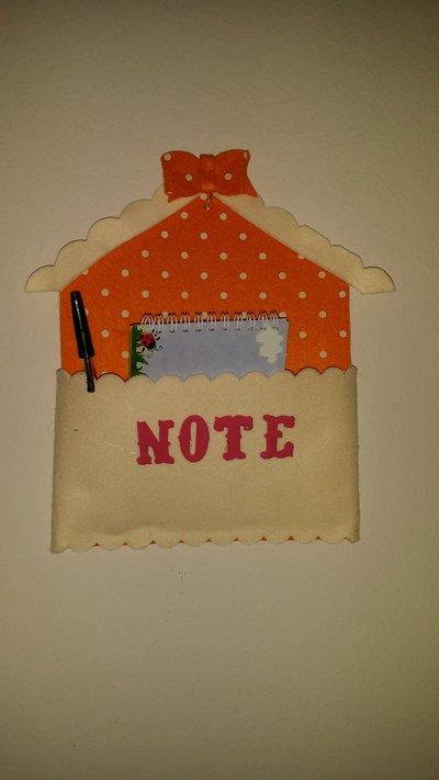 Cassetta porta posta  o block note