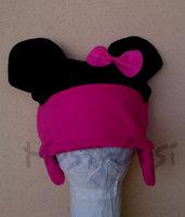 Cuffia Minnie pile con paraorecchie corto