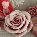 Candela profumata San Valentino - Rosa