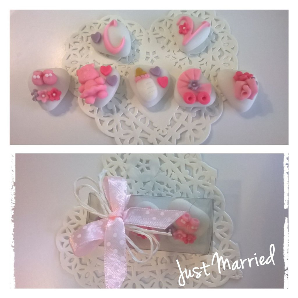 confettata battesimo bimba, lilla, fucsia, rosa