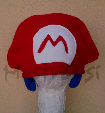 Cuffia Super Mario pile con paraorecchie corto