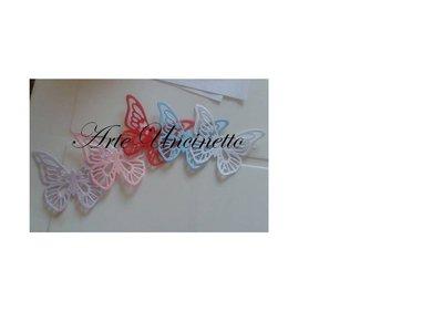 farfalle in carta