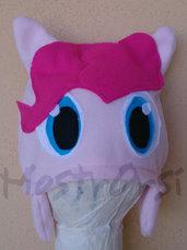 Cuffia Pinkie Pie pile con paraorecchie corto