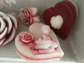 Candela profumata San Valentino-CuoreBallerina2