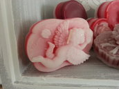 Candela profumata San Valentino-Cupido