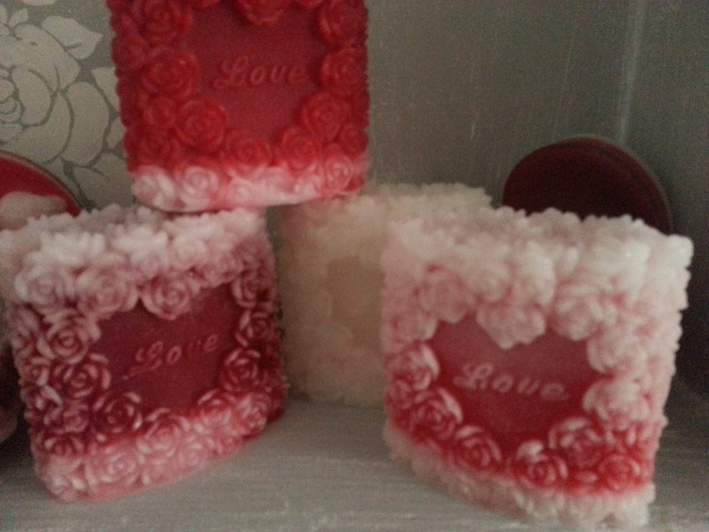 Candela profumata San Valentino-LOVE