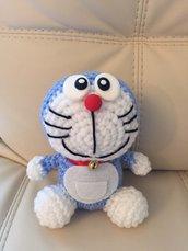 Doraemon amigurumi uncinetto